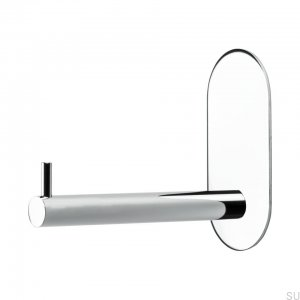 Base 100 wystający Toilet roll holder chrom Polished