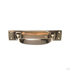 Furniture handle bowl 5810 Brass unvarnished
