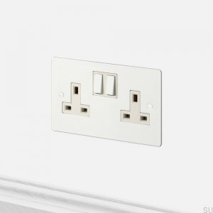 Socket 2G Uk Socket White [El632]