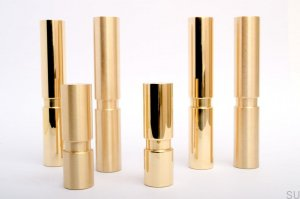Cylinder 100 noga do mebli Brass Brushed