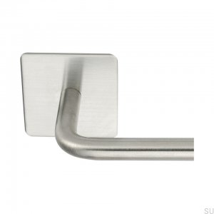 Base 200 Towel rack Steel Brushed