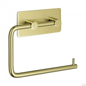 Base 200 klasyczny Toilet roll holder Gold