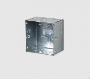 1G Metal Backbox 74x74x47