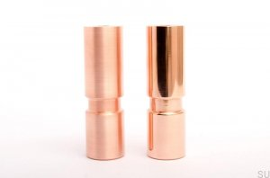 Cylinder 100 noga do mebli copper polished