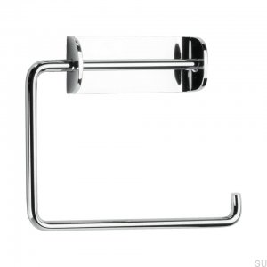 Solid Toilet roll holder chrom Polished