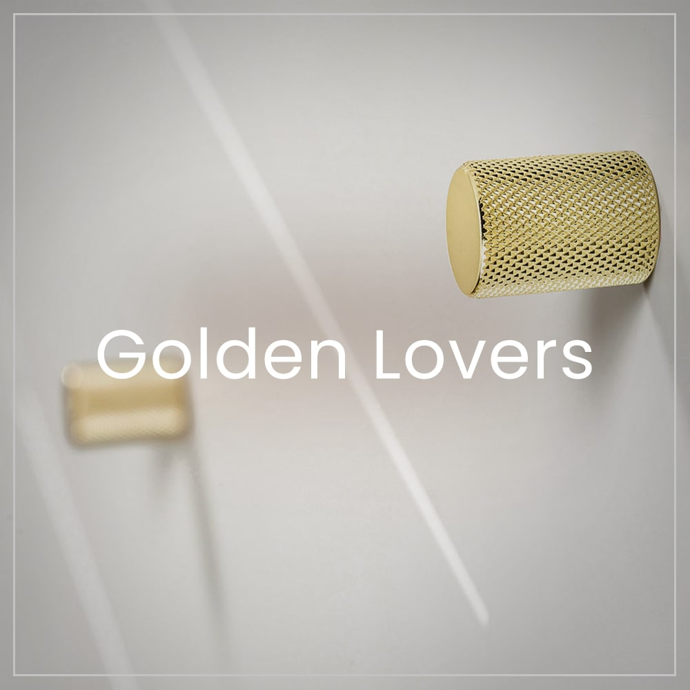 Golden handles and knobs