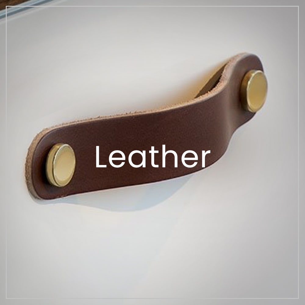 Handles made of leather from Premium class