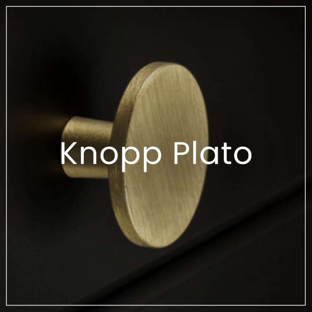 Knopp Plato series of knobs and hooks